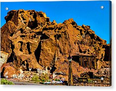 Calico Miners Shack Acrylic Print by Garry Gay