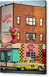 Caliente Cab Acrylic Print