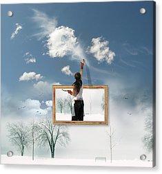 Califonia Dreaming  Acrylic Print