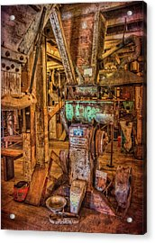 California Pellet Mill Co Acrylic Print