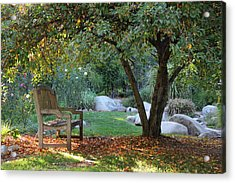 California Autumn Acrylic Print by Jan Cipolla