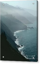 California Coastline Acrylic Print by Unknown
