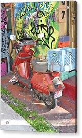 California Colors Acrylic Print