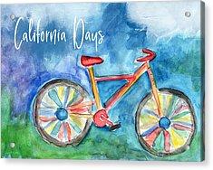 California Days - Art By Linda Woods Acrylic Print