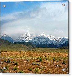 California Desert Landscape Acrylic Print