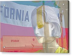 California Dreamer Acrylic Print