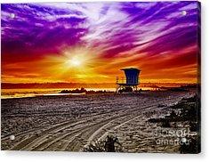 California Dreaming Acrylic Print by Alessandro Giorgi Art Photography