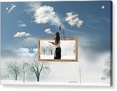 California Dreaming Acrylic Print by John Poon