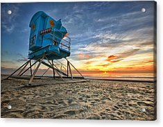 California Dreaming Acrylic Print by Larry Marshall