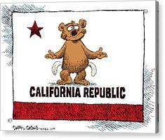 California Empty Pockets Acrylic Print