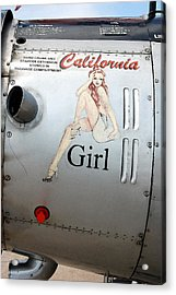 California Girl Acrylic Print
