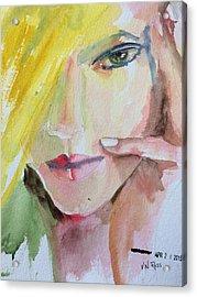 California Girl Acrylic Print by Vicki Ross