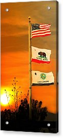 California Glory Acrylic Print by Richard Gordon