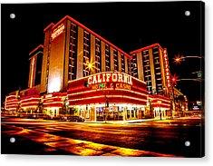California Hotel Acrylic Print by Az Jackson