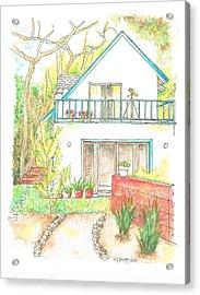 California House Acrylic Print by Carlos G Groppa