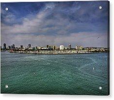 California - Long Beach 001 Acrylic Print by Lance Vaughn