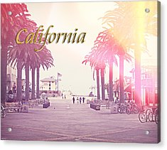 California Acrylic Print by Phil Perkins