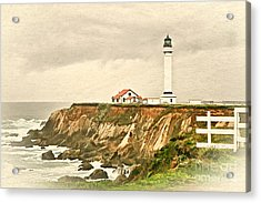 California - Point Arena Lighthouse Acrylic Print