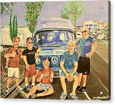 California Rednecks Acrylic Print