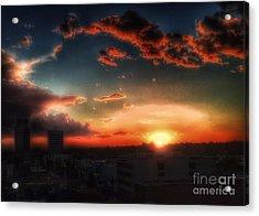 California Sky Acrylic Print