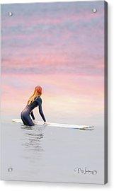 California Surfer Girl II Acrylic Print