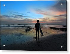 California Surfer Acrylic Print