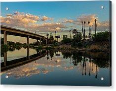 California To Arizona Acrylic Print