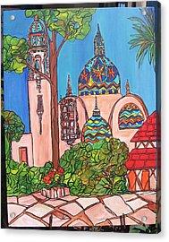California Towers-balboa Park-san Diego Acrylic Print by Michelle Gonzalez