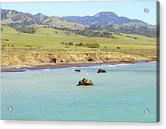Acrylic Print featuring the photograph California's Central Coast by Art Block Collections