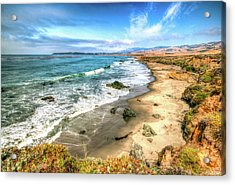 California's Central Coastline Acrylic Print