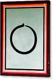 Caligraphy Acrylic Print by Peteris Vaivars