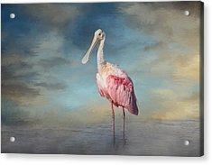 Call Me Rosy Acrylic Print