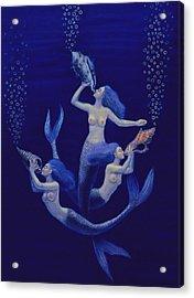 Call Of The Mermaids Acrylic Print
