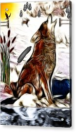 Call Of The Wild Acrylic Print by Madeline  Allen - SmudgeArt