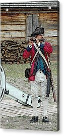 Call To Arms Acrylic Print by Diane E Berry