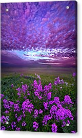 Call To Me And I Will Answer You Acrylic Print by Phil Koch