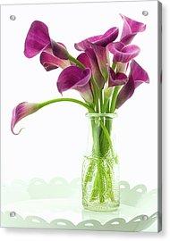 Calla Bouquet Acrylic Print