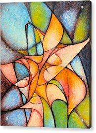 Calla Lillies Acrylic Print