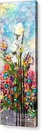 Calla Lily Dance Acrylic Print