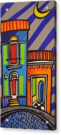 Calle Luna Acrylic Print by Mary Tere Perez