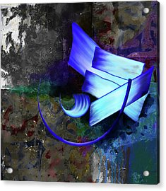 Calligraphy 33 Acrylic Print by Mawra Tahreem