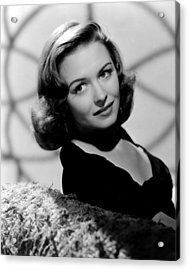 Calling Dr. Gillespie, Donna Reed, 1942 Acrylic Print by Everett