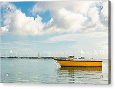 Calm And Peaceful Ocean Acrylic Print