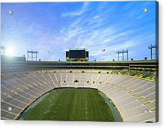 Acrylic Print featuring the photograph Calm Before The Game by Joel Witmeyer