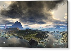 Calm Before The Storm Acrylic Print by Heinz G Mielke