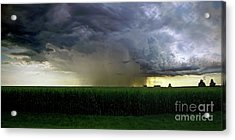 Calm Before The Storm Acrylic Print by Sue Stefanowicz
