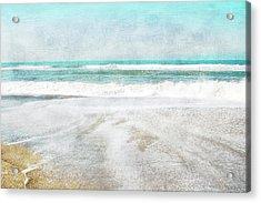 Calm Coast- Art By Linda Woods Acrylic Print