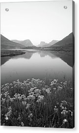 Calm Morning  Acrylic Print by Dustin LeFevre
