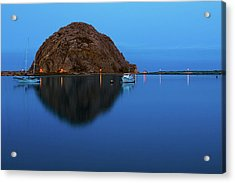 Calm Morning, Morro Bay, California Acrylic Print