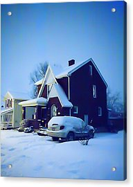 Calm Of Winter Acrylic Print by John Toxey